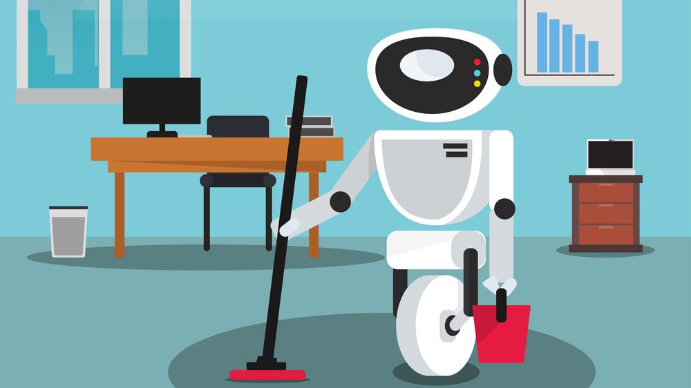 Robotene inntar renholdsbransjen